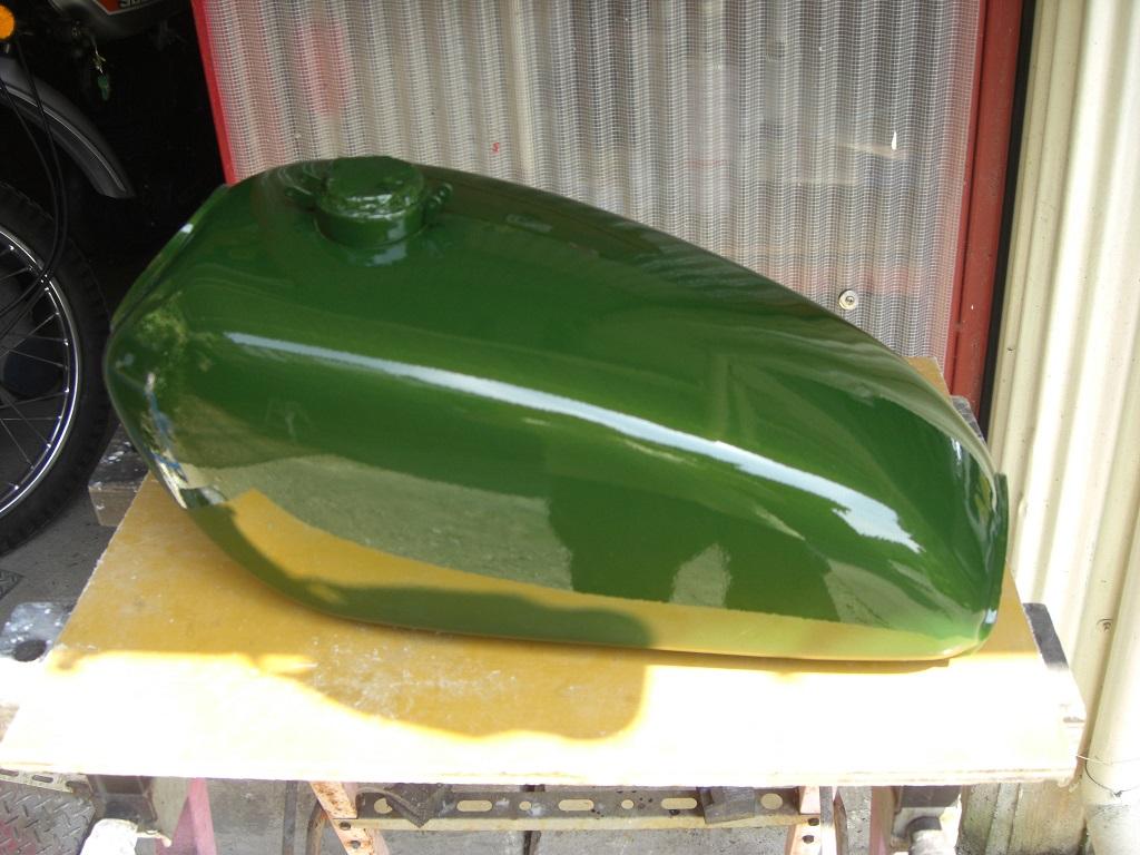 TS400塗装グリーン (1)