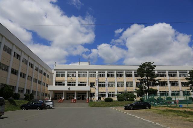 現)田子中学校