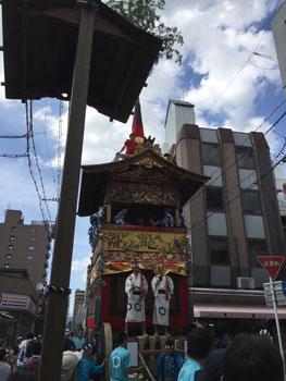160720 祇園祭後祭曳き初め