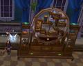 黄金円形の宝棚