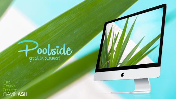 Poolside Ubuntu 壁紙