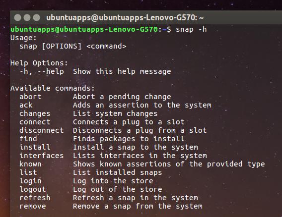 Ubuntu 16.04 Snapパッケージ インストール