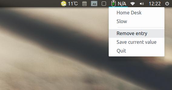 mouse-profile-indicator Ubuntu マウス速度 エントリの削除