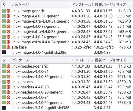 purge-old-kernels Ubuntu コマンド 古いカーネル削除