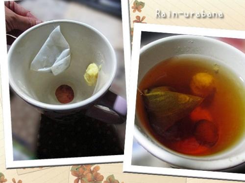 焼き梅生姜紅茶♪