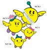 福島県キャラクター:キビタンファミリー