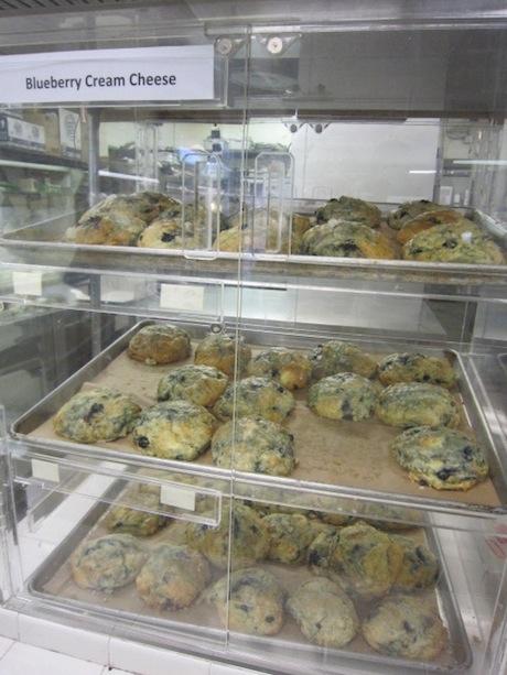 ブルーベリーチーズクリームスコーン