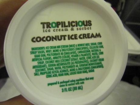 アイスクリーム付き