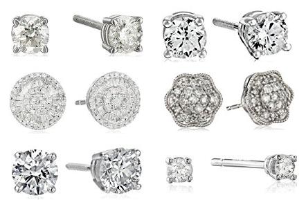 Stud earrings 118