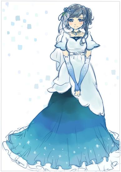 20160926藍染ドレス
