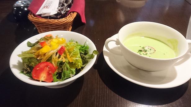 スープとサラダ16
