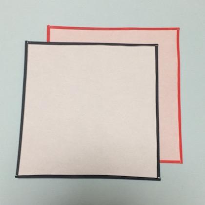 スパイダーマン折図4