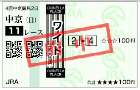 中京11R 2-4