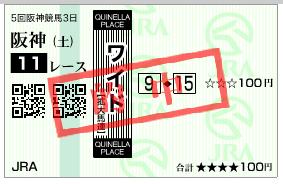 阪神11R 9-15