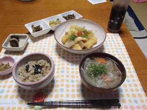 2016 11 04 今日の夕食