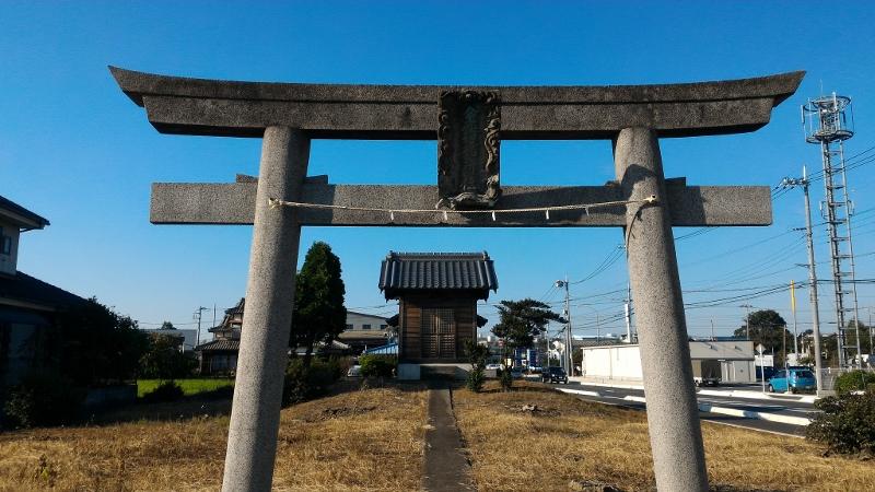 富士見の稲荷社