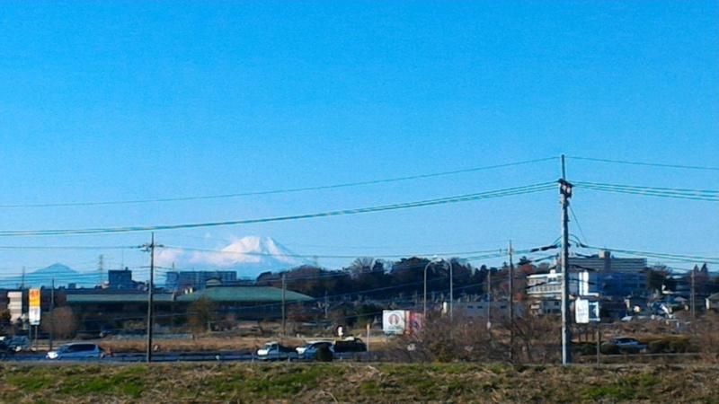 富士見市からの富士山