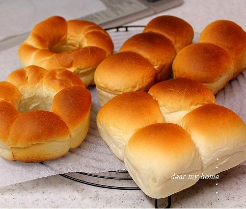 可愛いちぎりパン