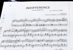 楽譜~Indifference
