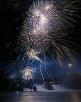 Rheinfallの花火