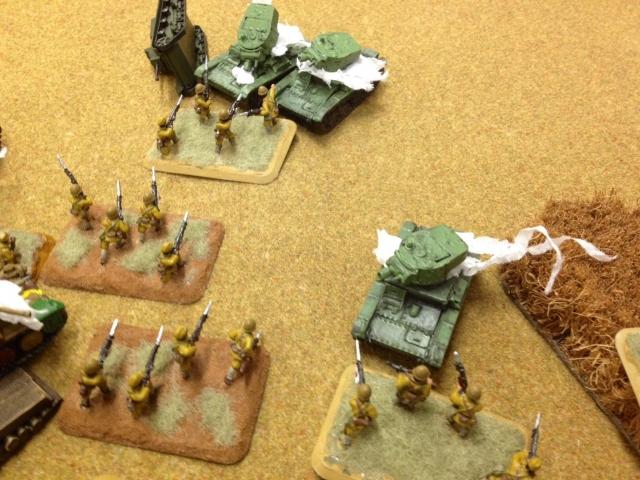 我、敵戦車部隊ニ勝利セントス。