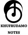 KHUFRUDAMO NOTES Logo