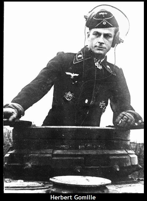 Herbert Gomille_Hauptmann_Kommandeur II./PzR4