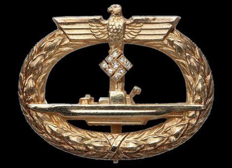 U-boots Kriegsabzeichen mit Brillanten