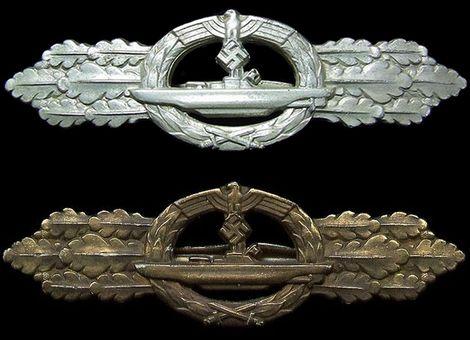 U-boots Frontspange_Silber_Bronze