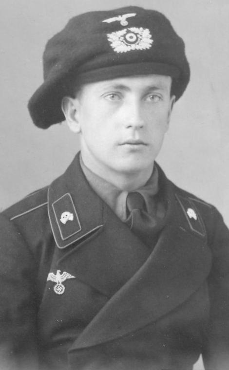 戦車兵用黒特殊野戦服第1号(1934年型)