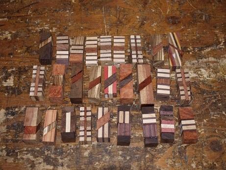 PB250053 寄木材料
