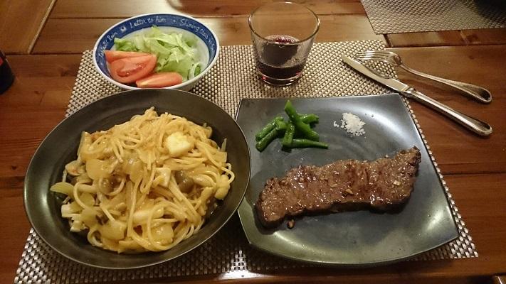 2016年10月23日夜家食事