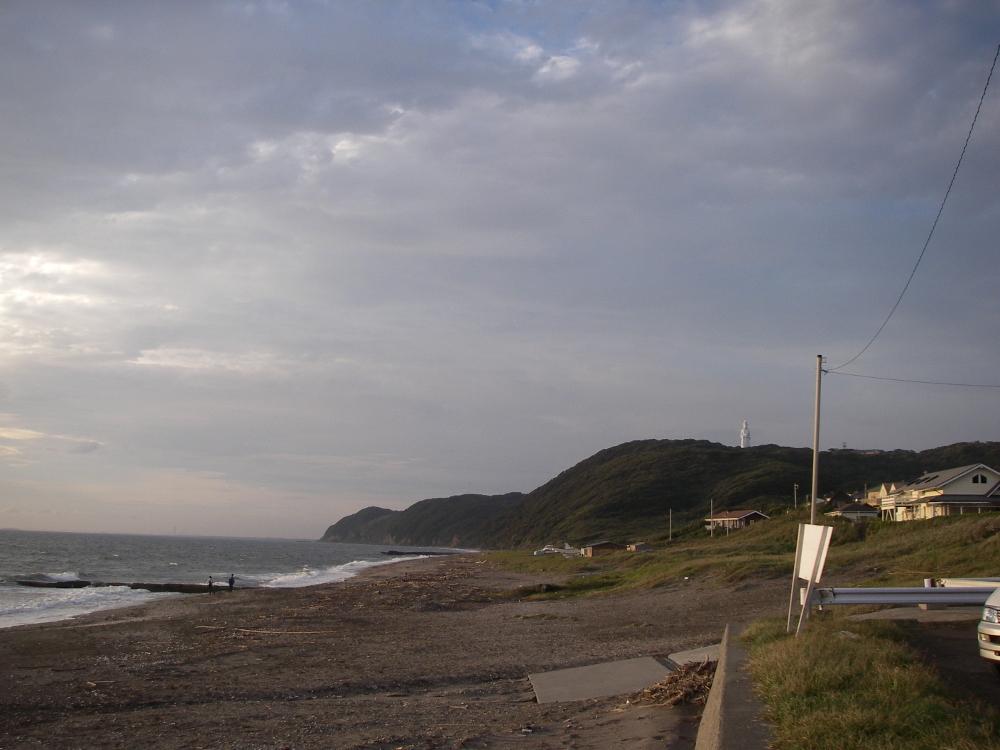 新舞子海岸と東京湾観音