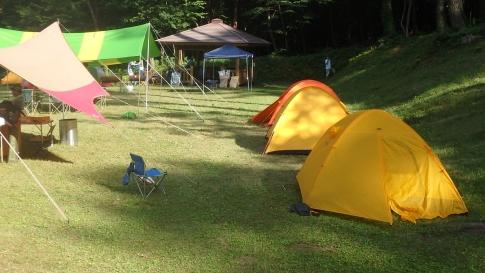 親子登山キャンプ(恐羅漢山) 015