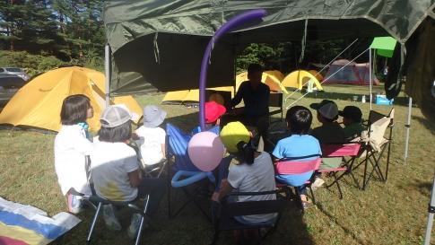 親子登山キャンプ(恐羅漢山) 018