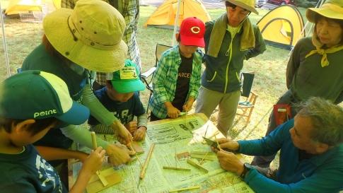 親子登山キャンプ(恐羅漢山) 023-001