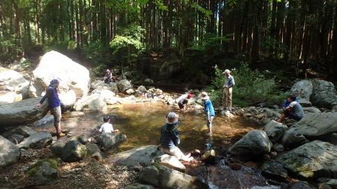 親子登山キャンプ(恐羅漢山) 030