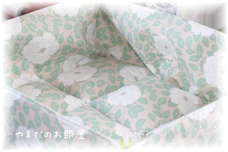 カフェピオニーで猫ベッド③
