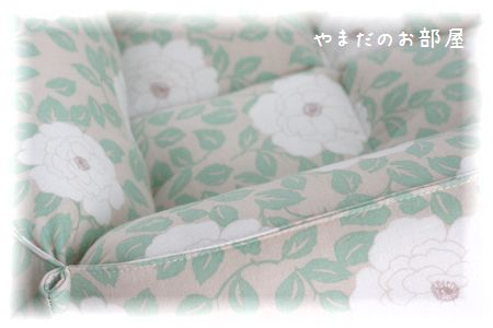 カフェピオニーで猫ベッド 完成~♪⑤