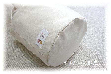 ま~るい巾着トートバッグ(8号帆布)④