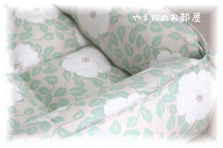カフェピオニーで猫ベッド 完成~♪⑧