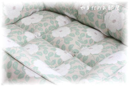 カフェピオニーで猫ベッド 完成~♪⑪