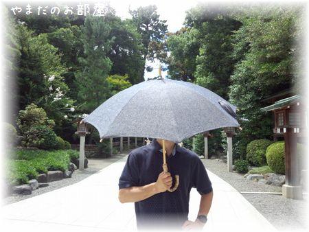 相方の日傘