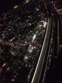 夜の浜松新幹線