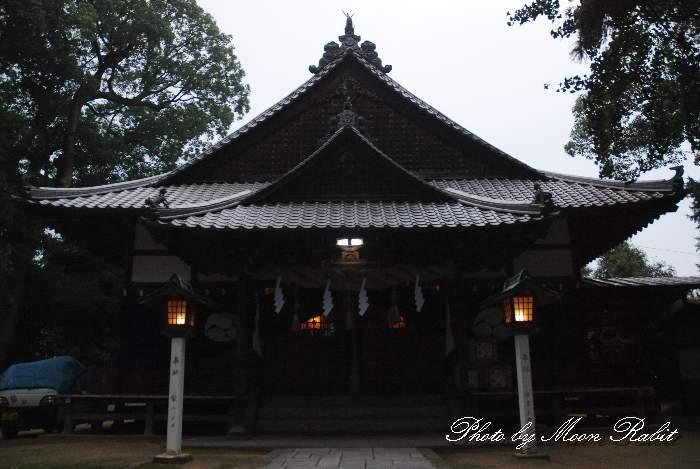 保内八幡神社 天正の陣