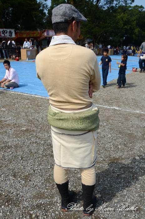 兵児帯・ラクダの衣装 中野一番屋台(だんじり)