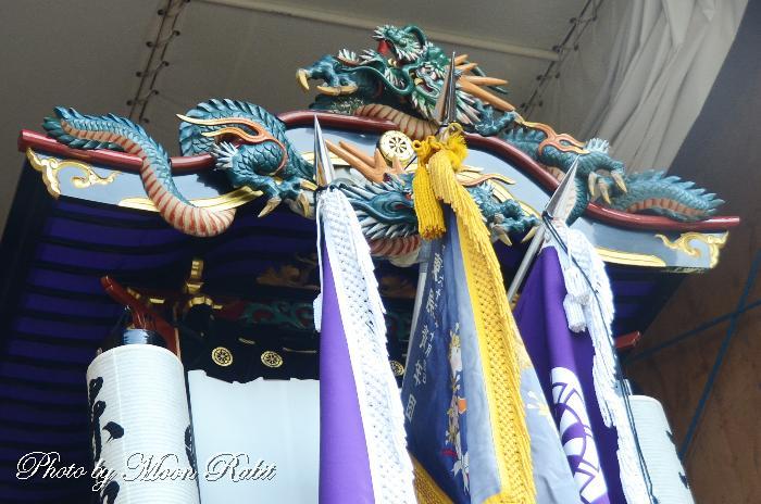 だんじり破風 東原屋台(東原だんじり) 西条祭り