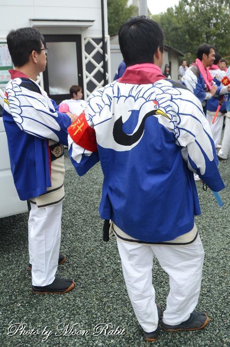 原之前屋台(原の前だんじり) 祭り装束
