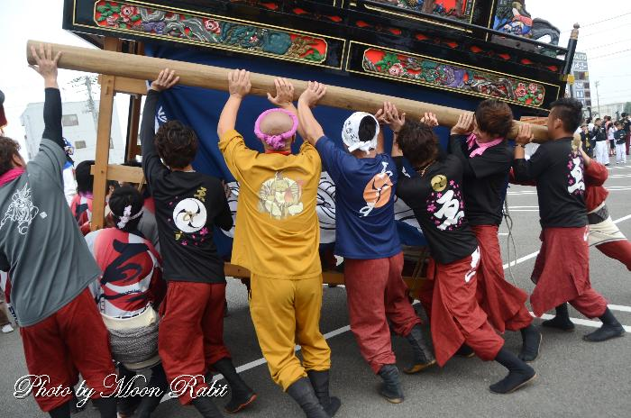 えびす会屋台(だんじり) 祭り装束 東予祭り