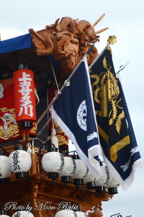 上喜多川屋台(だんじり) 祭り旗